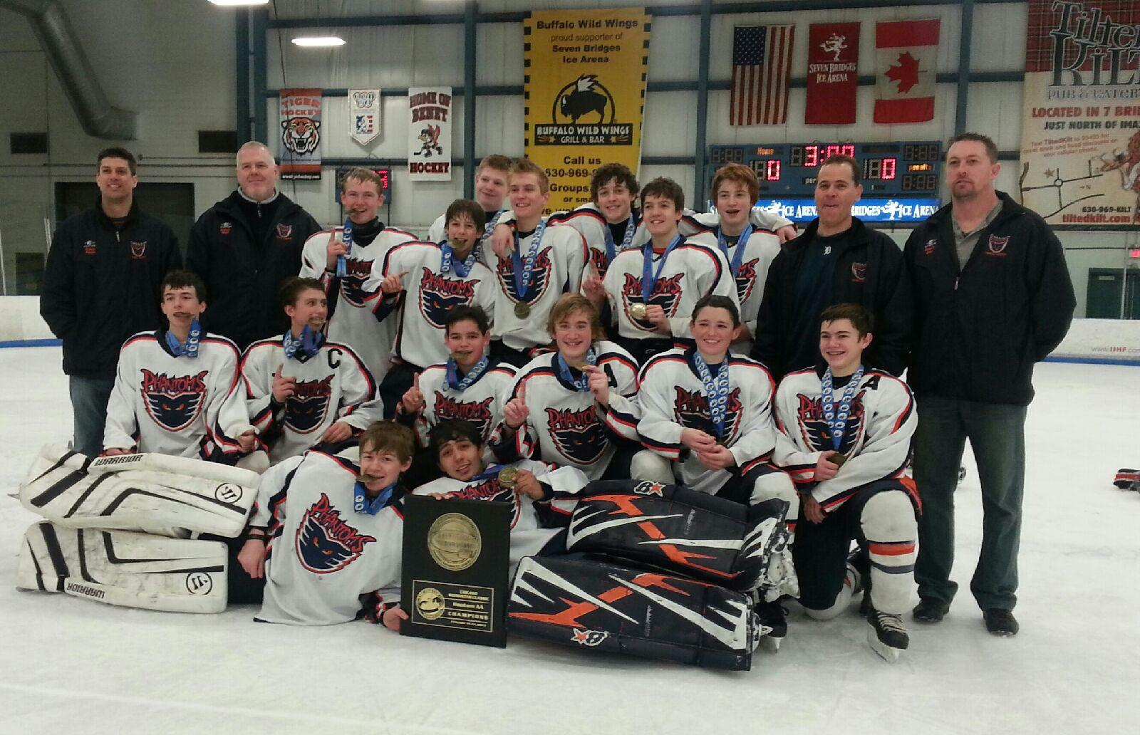 '98 Flint Phantoms Win Chicago