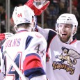 The Grand Rapids Griffins started their Western Conference Finals match-up with the Oklahoma City Barons last night, and posted a 2-1 win at Van Andel Arena. Brennan Evans...