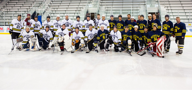 By @MichaelCaples - Almost 50 former Michigan Wolverines hockey players will return to Yost Ice Arena later this week to take part in the team's annual Alumni Game. […]