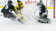 By Michael Caples – ANN ARBOR – The Wolverines scored early and often Friday night in Ann Arbor. It made for an easy third period against their...