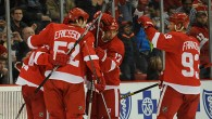 By Stefan Kubus - DETROIT – Despite it only being their second game together, the Red Wings' top line of Gustav Nyquist, David Legwand and Johan Franzen played...