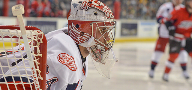 By Stefan Kubus - DETROIT – A pair of power-play goals, courtesy of Nick Jensen and Riley Sheahan, and a 27-save shutout from Petr Mrazek propelled Detroit […]