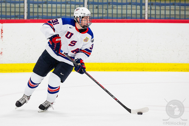 Zach Werenski - Photo Courtesy of MIHockeynow.com
