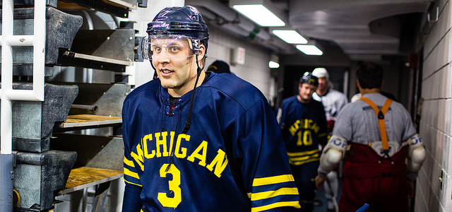 By @MichaelCaples - There's going to be another Johnson coming through the Michigan hockey program. Kenny Johnson, brother of former Wolverines standout Jack Johnson, told MiHockey that...