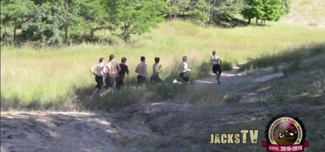 By @MichaelCaples - The Muskegon Lumberjacks are beginning their training sessions to get ready for the 2014-15 season, and they're taking advantage of West Michigan's natural exercise equipment. The […]