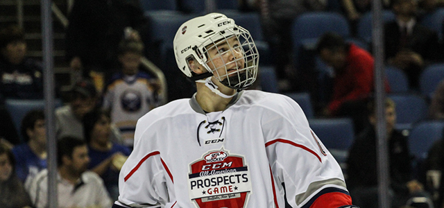 NTDP defenseman Nick Boka talks about his experience at the All-American Prospects Game and joining the Michigan Wolverines next season. More from the CCM/USA Hockey All-American Prospects Game: […]