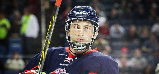 Michigan defenseman Zach Werenski (Grosse Pointe) talks about his experience at the All-American Prospects Game and getting ready for his freshman season with the Wolverines.