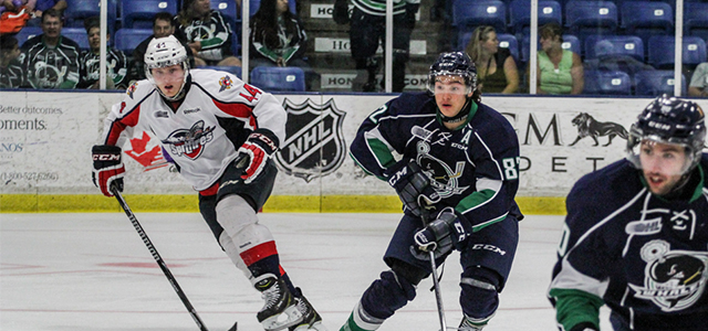 The 2014-15 Plymouth Whalers squadcompeted for the first time Saturday afternoon, as the OHL club welcomed their rivals from Windsor to Compuware Arena for a benefit game to […]