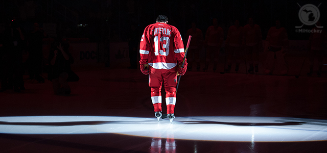 By @MichaelCaples - Pavel Datsyuk returned to action last night for the Red Wings' game against the Canadiens in Montreal. While the Wings ended up losing in overtime, Datsyuk still managed […]