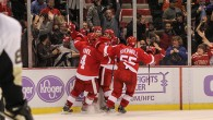 The Detroit Red Wings scored twice in the final 2:39 of regulation to force a regulation tie with the Pittsburgh Penguins Thursday night at Joe Louis Arena, before […]