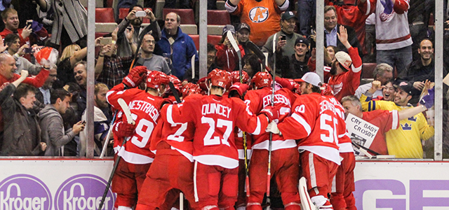 By Stefan Kubus - DETROIT –Despite an abysmal start Thursday night, Detroit exemplified thephrase 'playing until the buzzer sounds' with its showing at Joe Louis Arena. Fueled […]