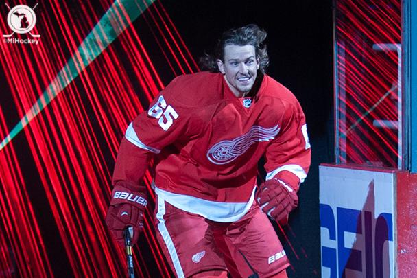Danny DeKeyser. (Photo by Jen Hefner/MiHockey)
