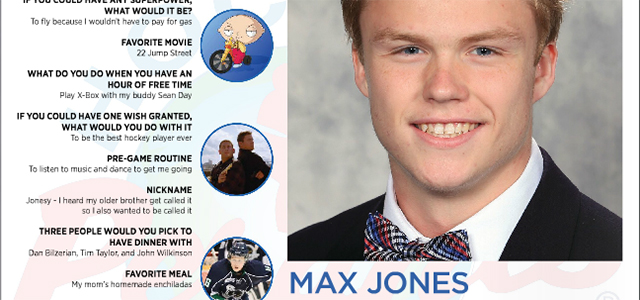 In the latest issue of MiHockeyMag, we introduce you to U.S. NTDP Under-17 Team forward Max Jones. The Rochester native is the latest Perani's Hockey World 'You Should Know' featured […]