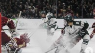 Matt DeBlouw's third-period goal gave new life to the Spartans Friday night in East Lansing, but it wasn't enough, as Michigan State fell to No. 8 Boston College […]