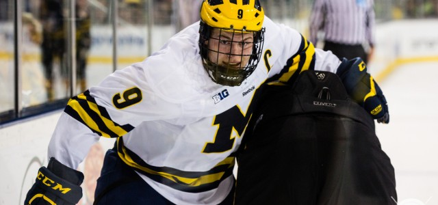 By @MichaelCaples - The Wolverines' captain is getting some recognition for his individual play. Michigan's Andrew Copp was named the Big Ten's second star of the week […]