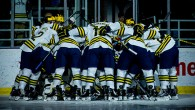 Photos from Michigan's Friday night Big Ten opener against Penn State at Yost Ice Arena in Ann Arbor. (Photos by Andrew Knapik/MiHockey)