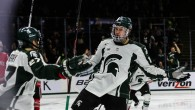 Goals from Matt Berry, Brent Darnell, Mackenzie MacEachern and Ryan Keller propelled Michigan State to a 4-1 win over Ohio State Friday night at Munn Ice Arena in […]