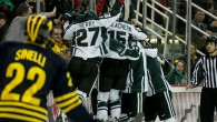 Photos by Andrew Knapik/MiHockey  By @SKubus - DETROIT –Solid defensive play and strong goaltending from Jake Hildebrand allowed the Spartans to stifle the No. 13 Michigan Wolverines' […]
