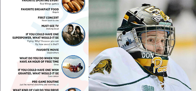 In the latest issue of MiHockeyMag, we introduce you to London Knights goaltender Tyler Parsons. The Chesterfield native is the latest Perani's Hockey World 'You Should Know' featured […]