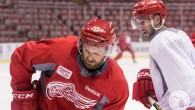 Members of the Detroit Red Wings (and some of their NHL friends) have been returning to Joe Louis Arena to prepare for training camp. Check out our photo […]