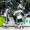 Thanks to goals from Mason Appleton, Villiam Haag, JT Stenglein, Joe Cox and Cody Milan, the Michigan State Spartans started their weekend set against New Hampshire with a […]