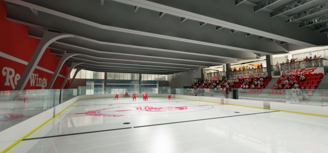Channel 7 reporter Kacie Hollins joined Darren Eliot on a tour of the practice facility being installed underground at Little Caesars Arena. Check out the video below, which […]