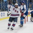 During the second day of the Under-17 Five Nations tournament at USA Hockey Arena in Plymouth, the NTDP Under-17 Team prevailed over Finland 5-2. (Photos by Michael Miller/MiHockey)