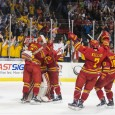 Thanks to a third-period goal from Kenny Babinski and a shutout effort from Darren Smith, the Ferris State Bulldogs pulled off an upset victory over the Michigan Tech […]