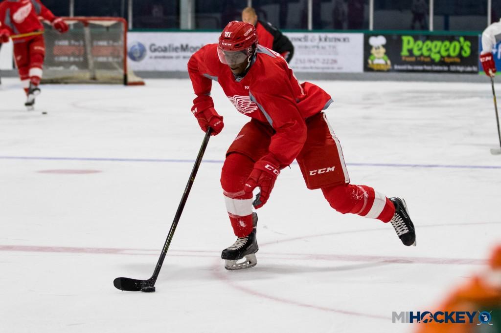 Givani Smith (Photo by Michael Caples/MiHockey)