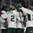 Thanks to goals from six different members of the Spartans, the Michigan State hockey program recorded its first official win of the 2016-17 season with a 6-2 victory […]