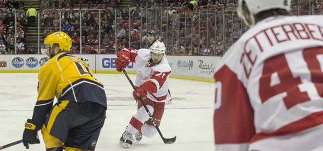 By @StefanKubus - DETROIT – After an 0-2 start, the Red Wings have climbed back to win three straight. Detroit topped the visiting Nashville Predators Friday night, […]