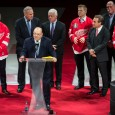 Prior to puck drop Tuesday night against the Buffalo Sabres, the Detroit Red Wings welcomed the players and coaches of the 1997 Stanley Cup championship team back to […]