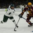 The Michigan State Spartans kicked off their Big Ten schedule with a Friday night battle against Minnesota at Munn Ice Arena. The visitors ended up prevailing by a […]