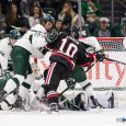 Check out MiHockey's photos from Michigan State's game against Northeastern from Sunday afternoon in East Lansing. The visiting Huskies squad prevailed 6-2. (Photos by Michael Caples/MiHockey)
