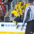 The University of Michigan picked up its first Big Ten win of the season Saturday night, as the Wolverines beat Wisconsin 4-1 at Yost Ice Arena in Ann […]