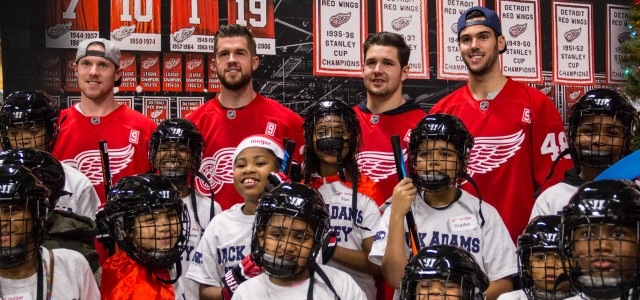 By @StefanKubus - A group of young hockey players from Detroit began Thursday night giving back to fellow children in need alongside Detroit Red Wings players and […]