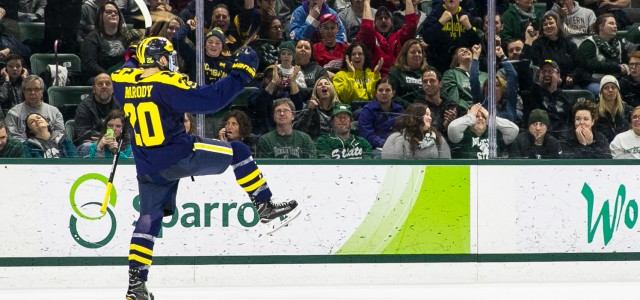 By @MichaelCaples -  EAST LANSING – The Spartans won Round 1, but Cooper Marody and the Wolverines got the last laugh Saturday night. The Michigan sophomore forward […]