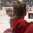 An opposing AHL goaltender wouldn't be too thrilled, but this little guy loved it when Grand Rapids' Matthew Ford sprays him in the face. Check out this adorable […]