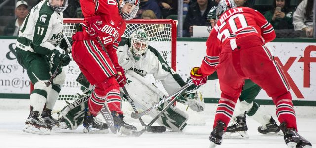 Check out MiHockey's photos from Saturday night's B1G showdown between Michigan State and Ohio State at Munn Ice Arena in East Lansing. The Buckeyes ended up prevailing 4-3 […]