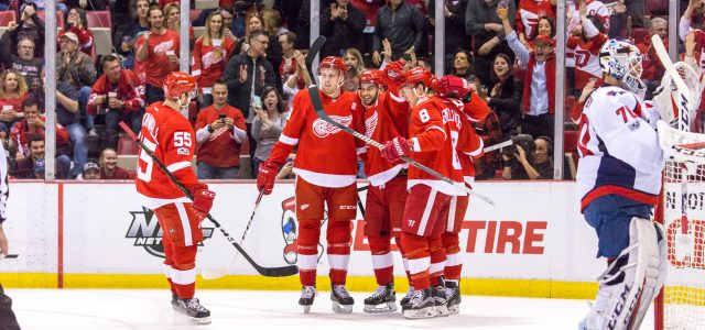 On Saturday afternoon at Joe Louis Arena, the Red Wings topped the NHL-leading Washington Capitals 3-2 in a shootout. Frans Nielsen and Tomas Tatar scored in regulation, while […]
