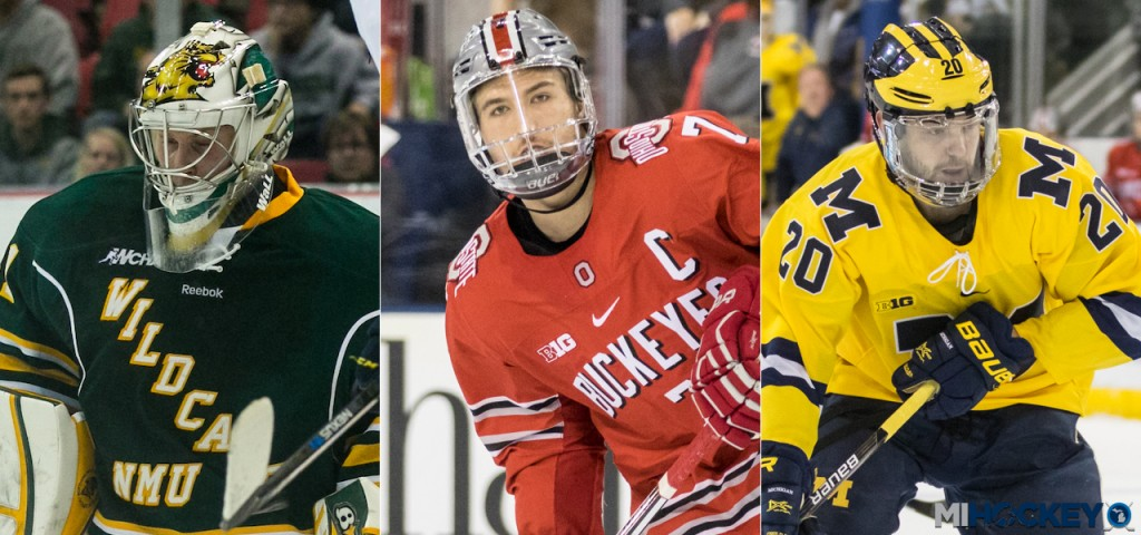 Photos by Andrew Knapik and Michael Caples/MiHockey