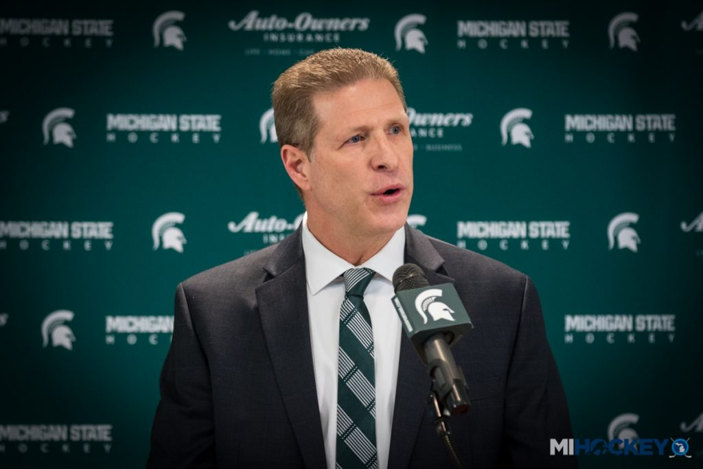 BIG10: Danton Cole Returns Home As New Michigan State Hockey Coach