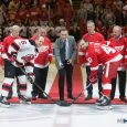 The Detroit Red Wings played their final game at Joe Louis Arena Sunday evening in Detroit, and they made sure to record a victory. Riley Sheahan scored twice, […]