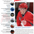 In the latest issue of MiHockeyMag, we introduced you to Detroit Red Wings' first-round draft pick Michael Rasmussen. The 6-foot-6 Tri-City Americans forward was selected ninth overall in […]