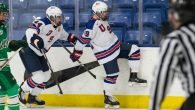 The new USA Hockey's National Team Development Program Under-17 Team made their 2017-18 season debut Friday night in Plymouth, and the team had no problem finding the back […]