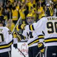 In the program's first game under new coach Mel Pearson, the Michigan Wolverines ran the score up on Western Ontario. Check out MiHockey's photos from a 10-1 victory […]