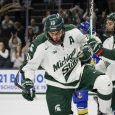 On Friday night at Munn Ice Arena, Michigan State withstood a third-period rally from visiting Lake Superior State to record MSU's third win of the season. After building […]