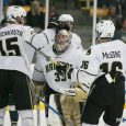 After a loss Friday night at Munn Ice Arena, Western Michigan evened the weekend home-and-home series with Michigan State by posting a 3-1 victory Saturday night in Kalamazoo. […]