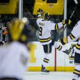 In the first game on the newly-named Red Berenson Rink at Yost Ice Arena, the Michigan Wolverines beat Vermont 4-1. Will Lockwood and Brendan Warren scored second-period goals, […]