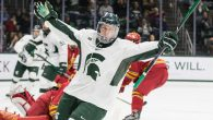Ferris State rallied to force overtime, but Michigan State ended up prevailing Friday night in the first of a home-and-home series between two former CCHA rivals. Taro Hirose […]